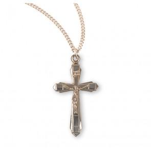 Basic Sterling Silver Crucifix