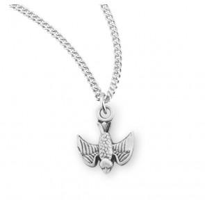 Holy Spirit Sterling Silver Medal