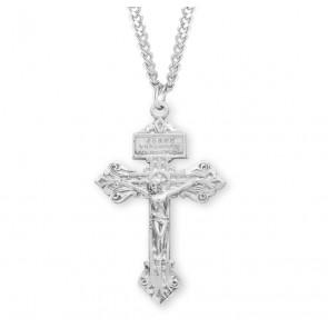 "Sterling Silver ""Pardon"" Crucifix"