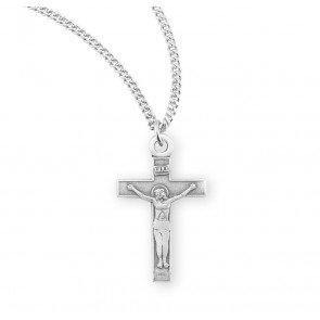 Sterling Silver Basic Crucifix