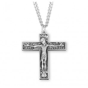Good Friday Sterling Silver Crucifix