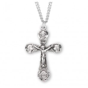 Angels Sterling Silver Crucifix