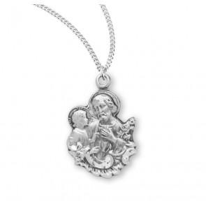 Saint Joseph Sterling Silver Medal