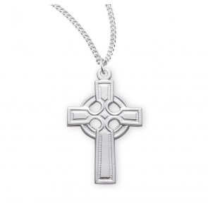 Sterling Silver Irish Celtic cross