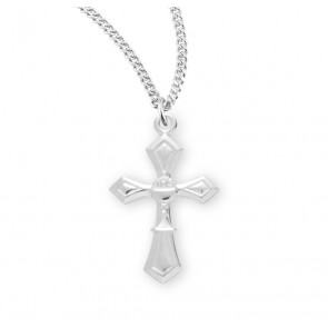 Sterling Silver Cross with a Chalice