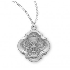 Sterling Silver Communion Baroque